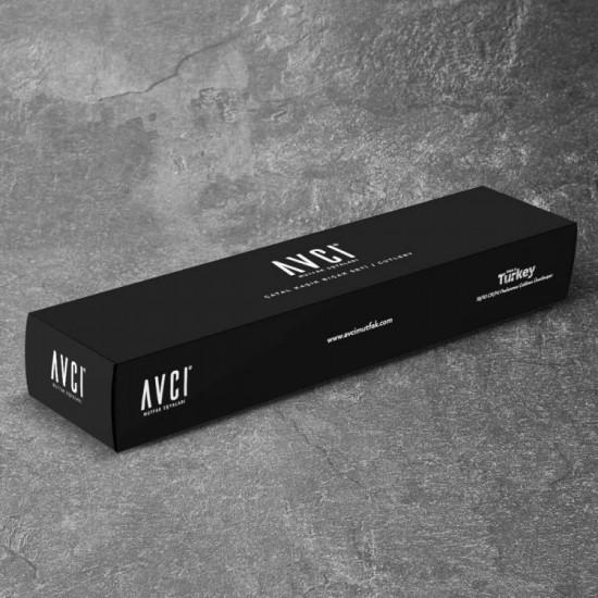 Black Mix Touch Mat Gold 7 Parça Tek Kişilik Çatal Kaşık Bıçak Takımı