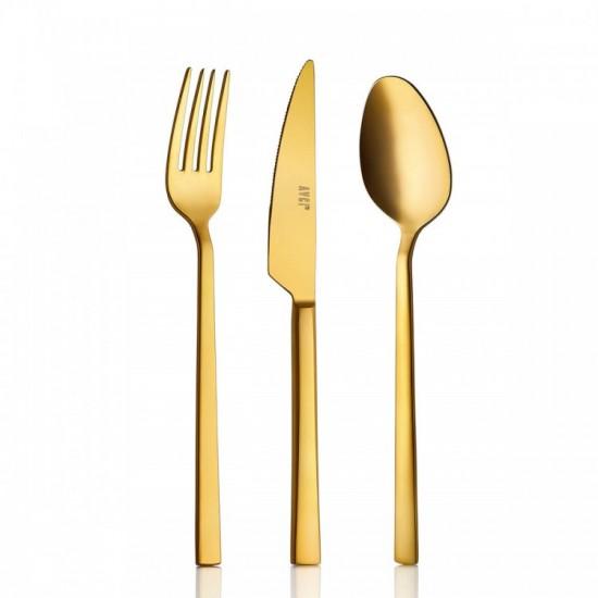 Klas Mat Gold 24 Parça Çatal Kaşık Bıçak Takımı