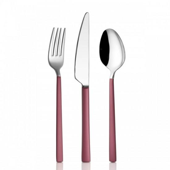 Pink Touch Mat 24 Parça Çatal Kaşık Bıçak Takımı