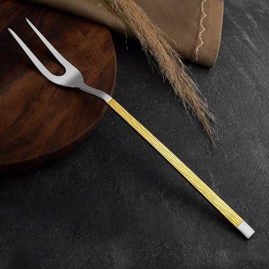 Pera Gold 18/10 Paslanmaz Çelik Servis Çatal