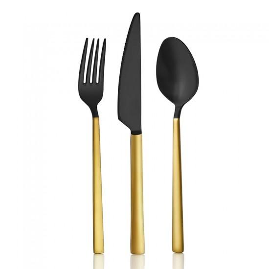 Gold Mix 60 Parça Çatal Kaşık Bıçak Takımı