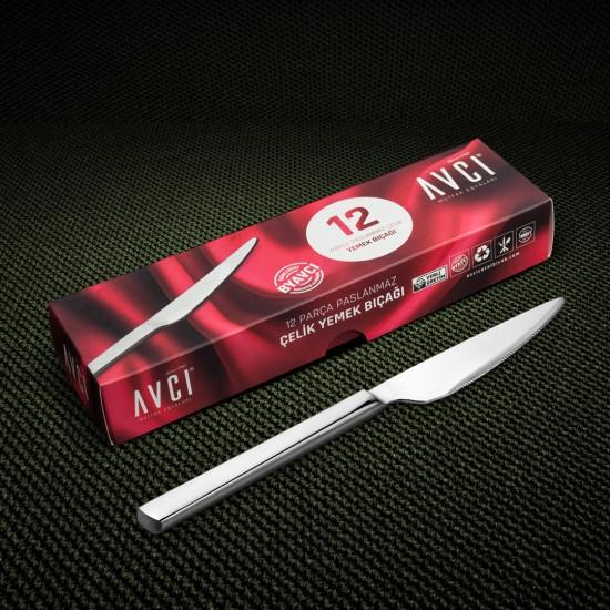 Klas 12 Parça Yemek Bıçağı