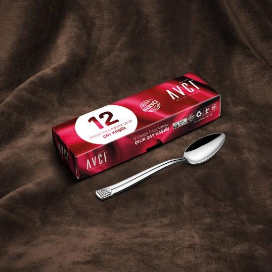 Line 12 Parça Çay Kaşığı