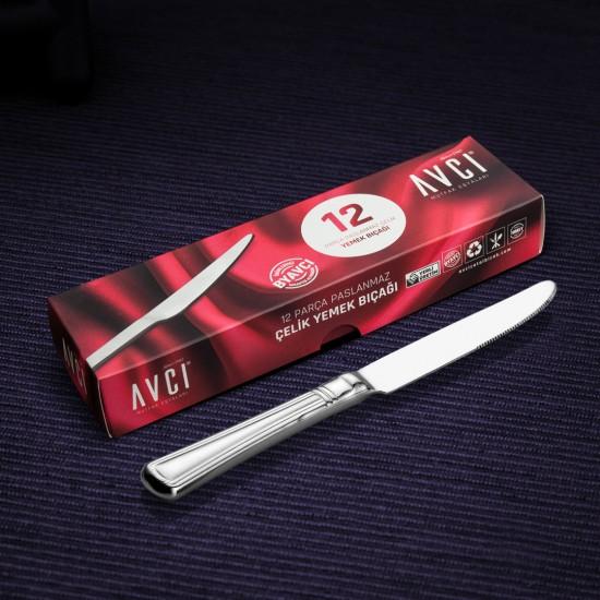 Narin 12 Parça Yemek Bıçağı