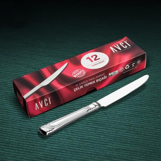 Sarma 12 Parça Yemek Bıçağı