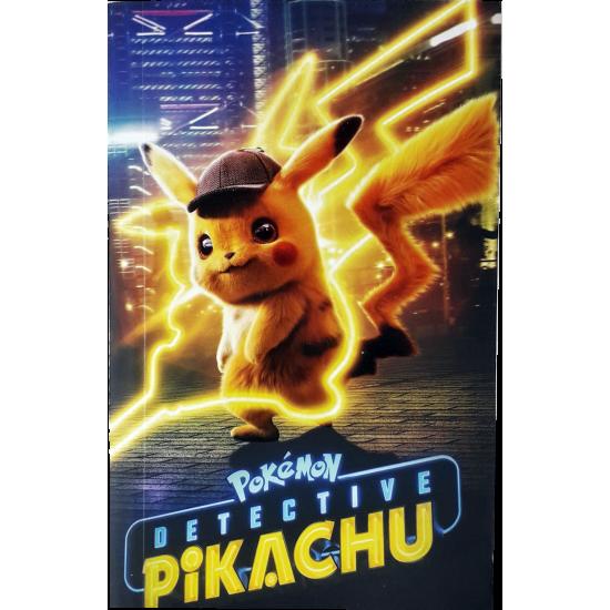Pikachu Tasarimli Cep Defteri
