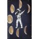 Selam Veren Astronot Tasarimli Cep Defteri