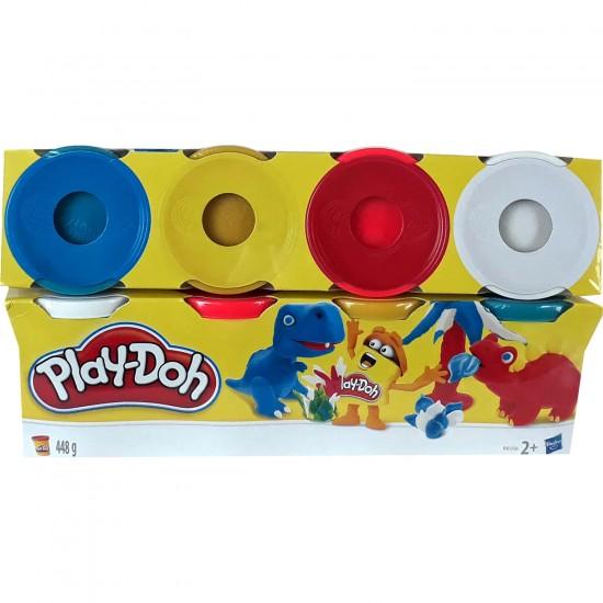 Play Doh  4'Lü Oyun Hamuru