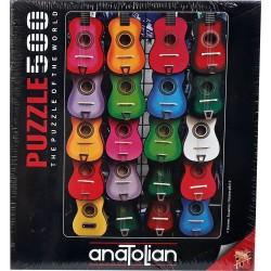 Anatolian Gitar Temali Puzzle 500 Parça