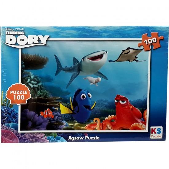 Disney Kayip Balik Nemo Dory Puzzle 100 Parça