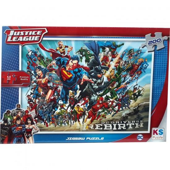 Super Kahramanlar Justice League 200 Parça
