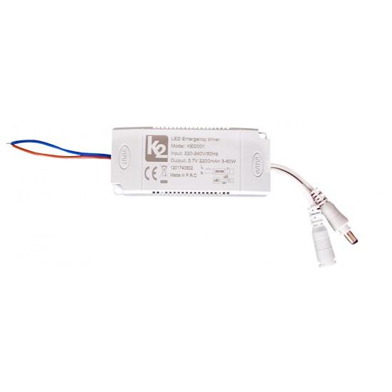 Ked001 Acil Durum Trafosu 60W 2200Mah