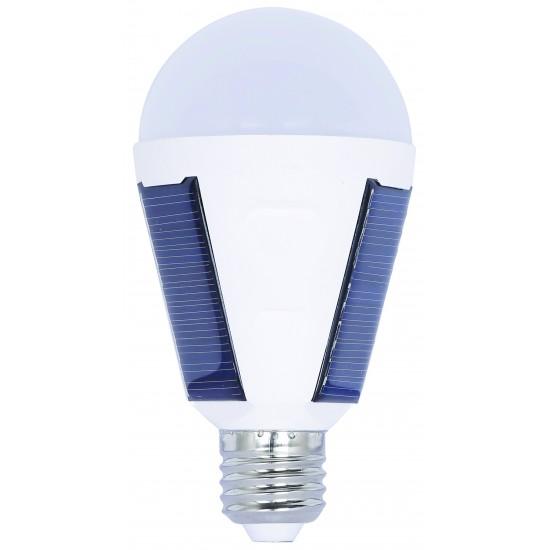 Kes074 Solar Ledli Amp. 7W E27 Beyaz