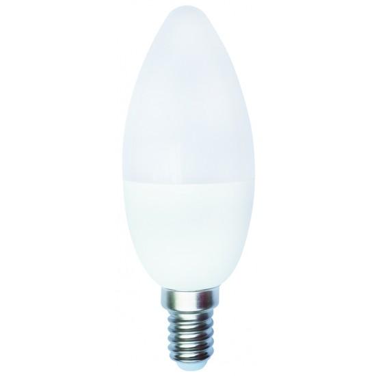 Kes205 5W Candle Led Amp. E14 K2 Beyaz