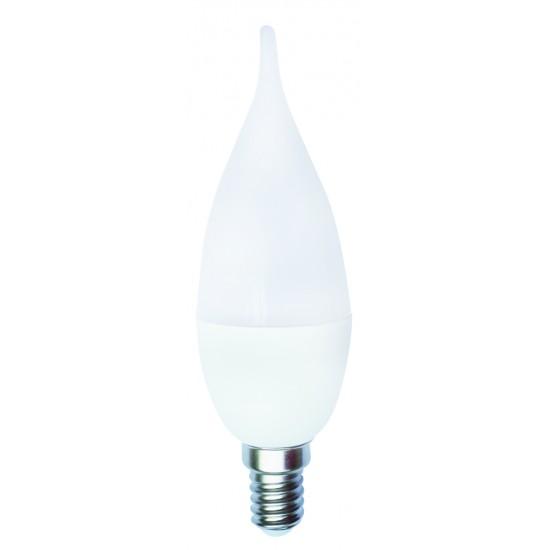 Kes206 5W Candle Led Amp. E14 K2 Beyaz