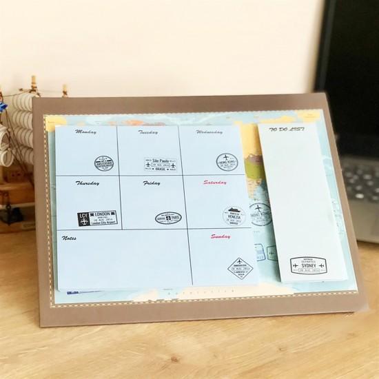 Travel Journel Tasarimli Planner