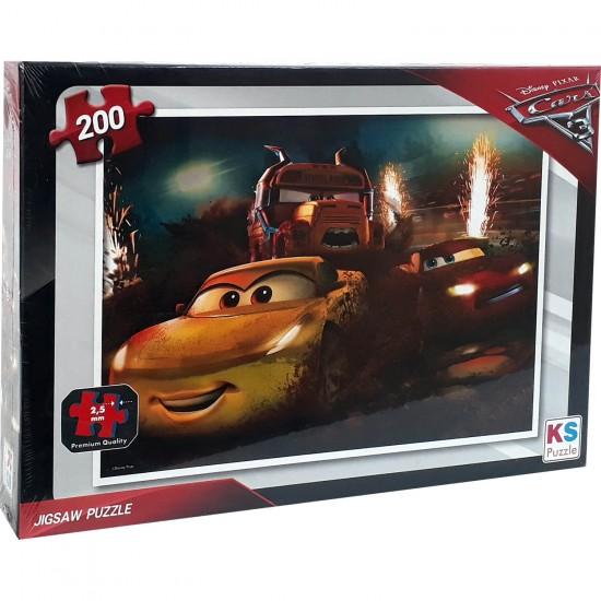 Disney Arabalar Puzzle 200 Parça