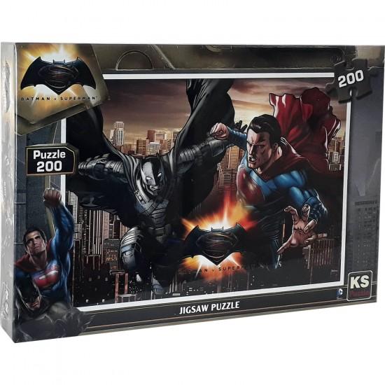Disney Batmanvssuperman Puzzle 200 Parça