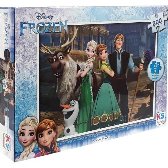 Disney Frozen Puzzle 200 Parça