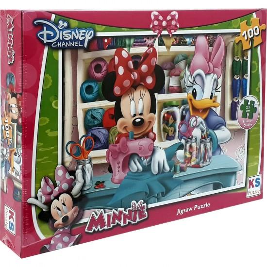 Disney Minnie Puzzle 100 Parça