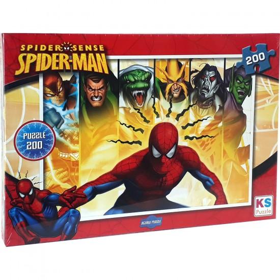 Spiderman Puzzle 200 Parça