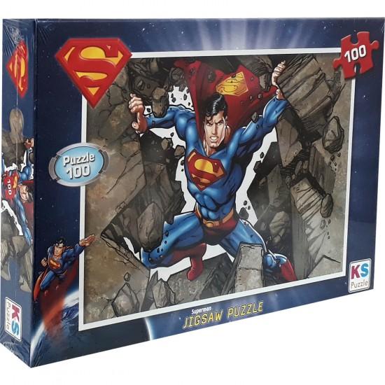 Superman Puzzle 100 Parça