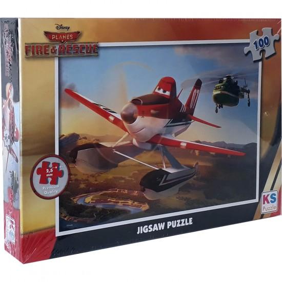 Uçaklar Puzzle 100 Parça
